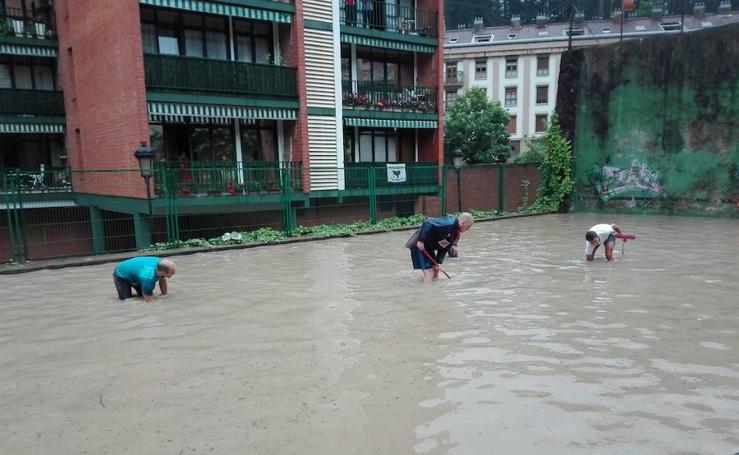 Inundaciones en Antzuola