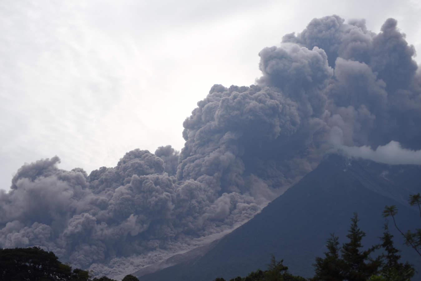 Guatemala, tras la erupción del volcán