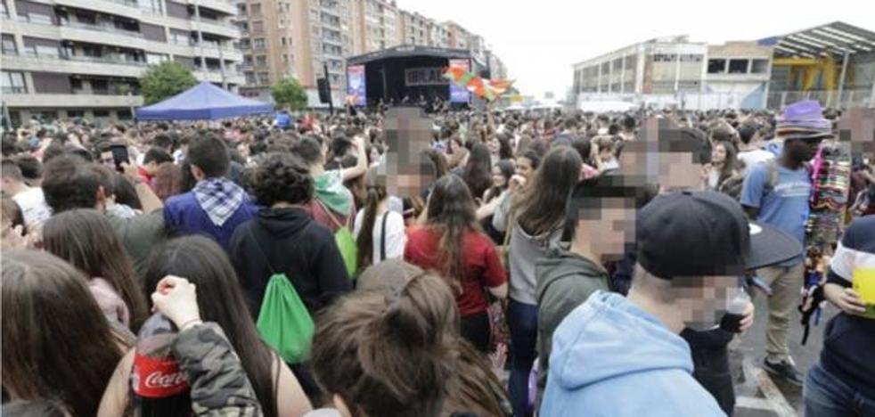 Imputado por una agresión sexual a una menor en Santurtzi el día del Ibilaldia