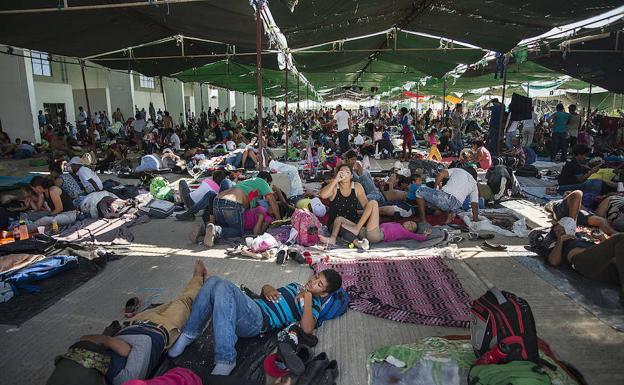 Lupita llamarían a bebé nacida en la Caravana Migrante