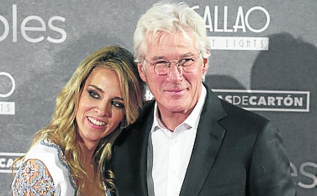 A los 69 años, Richard Gere es papá otra vez