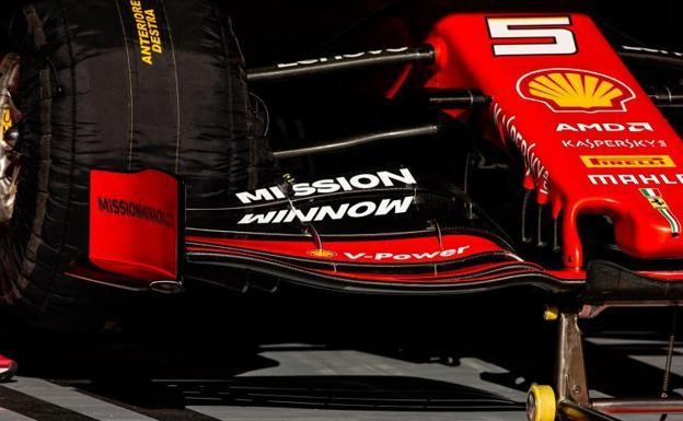 Ferrari eliminará logo de Mission Winnow para GP de Australia