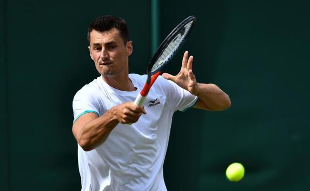 Wimbledon castigó a Bernard Tomic por