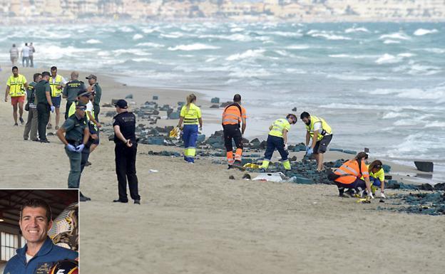 Un avión militar de España cae al mar; el piloto habría fallecido