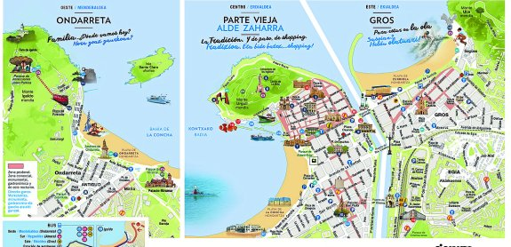 Resultado de imagen de san sebastian mapa