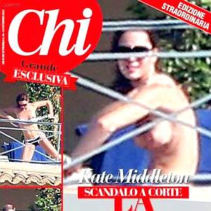 Una revista italiana publica un especial del topless de Catalina de Cambridge