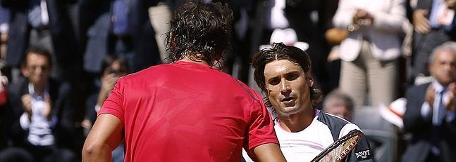 David Ferrer sale en defensa de Nadal