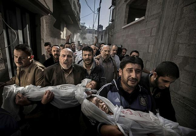 Un funeral en Gaza gana el World Press Photo