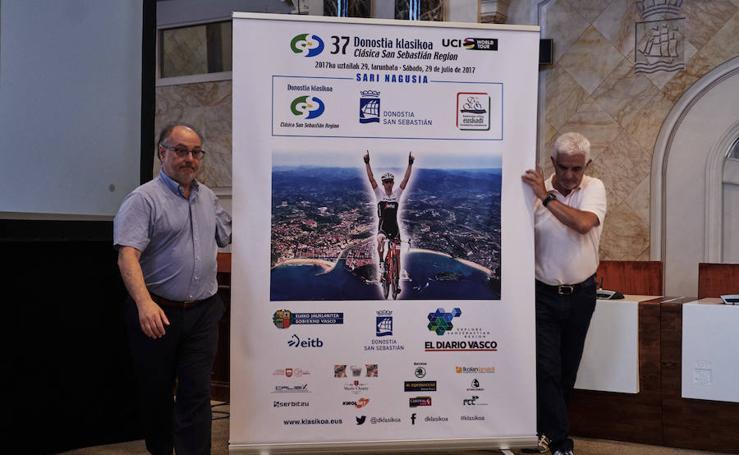 Presentación de la Clásica San Sebastián 2017