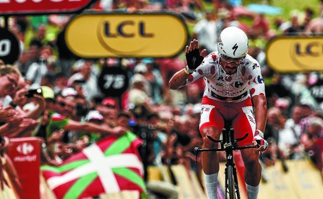 Alaphilippe, el espectáculo del Tour, desembarca en Donostia para disputar la Clásica San Sebastián