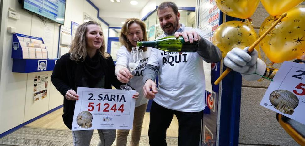 La Lotería de Navidad esquiva a Gipuzkoa