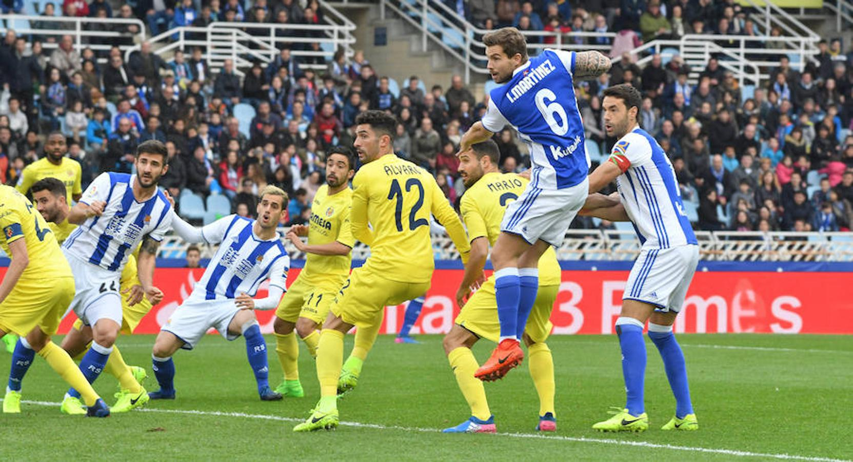 villarreal real sociedad