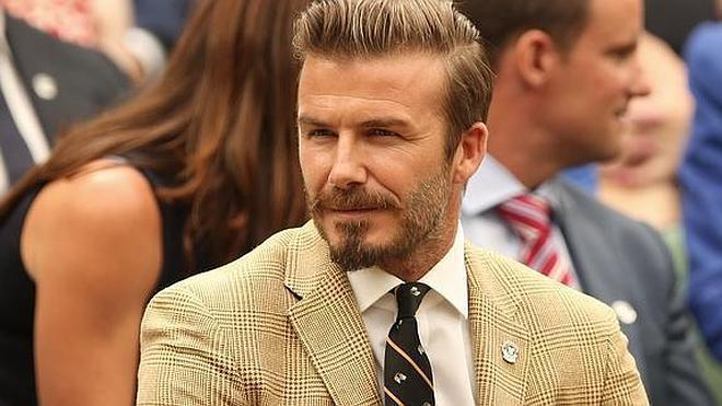 David Beckham sufre un accidente de moto