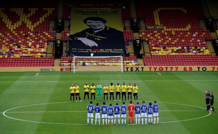 Empate sin goles entre el Watford y la Real Sociedad