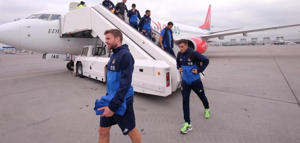 El viaje con contratiempos de la Real Sociedad a San Petersburgo
