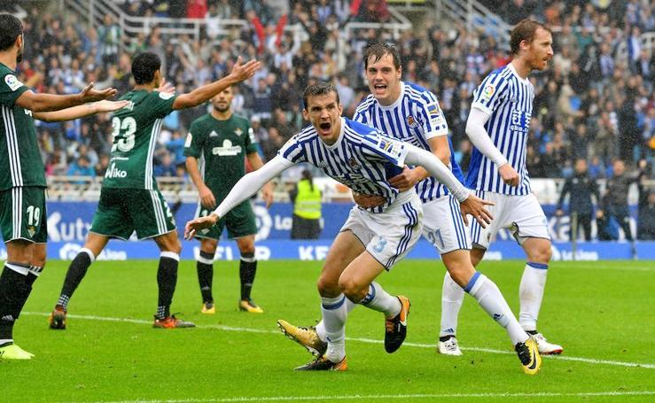 Vibrante empate en Anoeta (4-4)