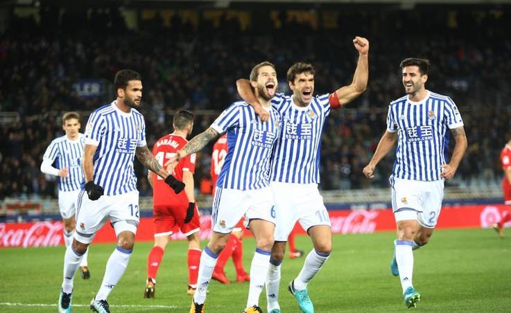 Las mejores imágenes del Real-Sevilla