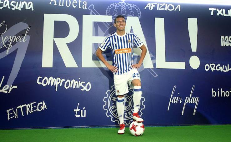 Héctor Moreno, nuevo jugador de la Real Sociedad