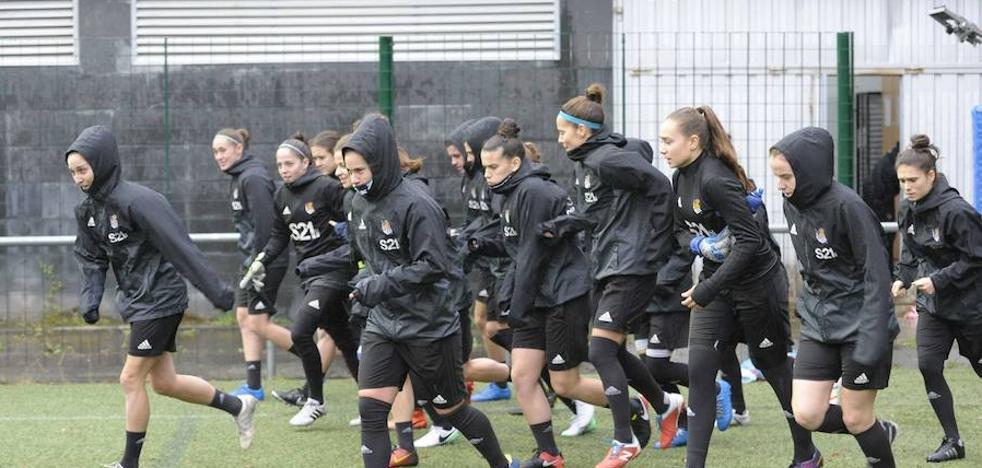 Siete bajas en el equipo femenino de la Real Sociedad
