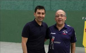 Garitano juega a pelota en Leganés