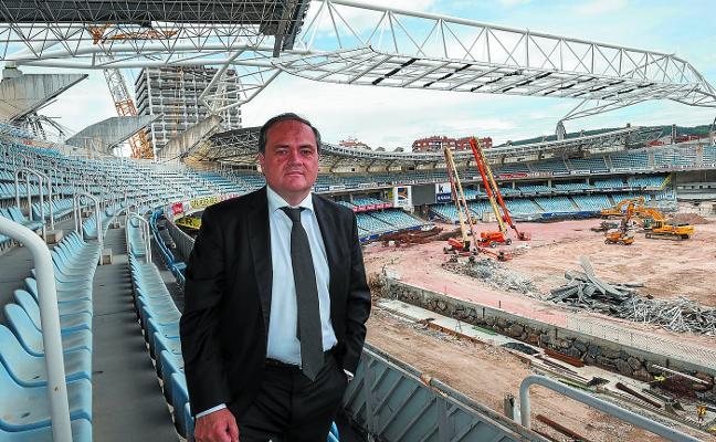 Aperribay: «Xabi Prieto sabe que tiene un hueco en la gestión del área deportiva de la Real Sociedad, le esperamos»