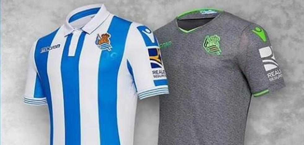 La Real Sociedad presenta su nueva equipación para la campaña venidera