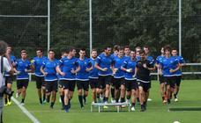 La Real Sociedad continúa con los entrenamientos