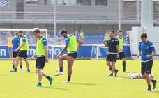 La Real Sociedad se ejercita en Zubieta con el Eibar en mente