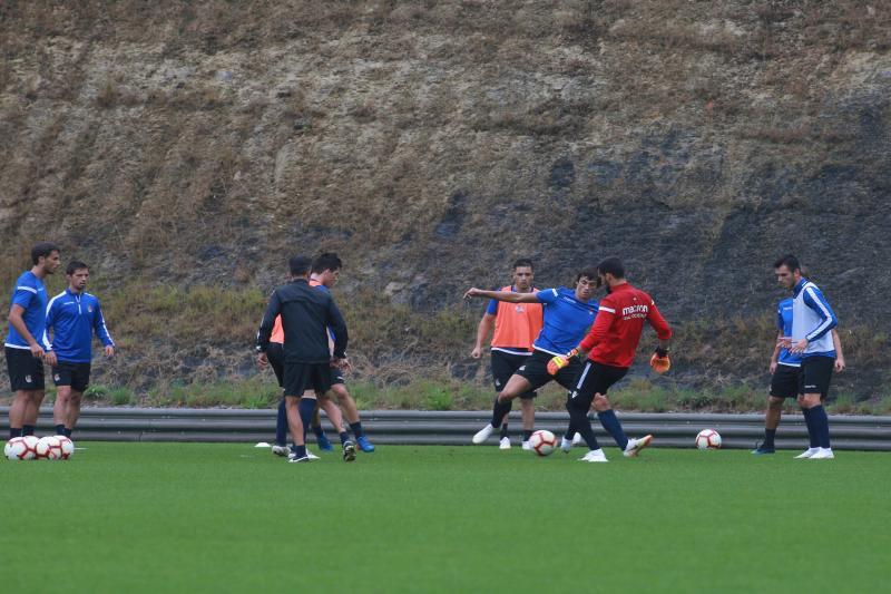 La Real Sociedad prepara el partido ante el Eibar