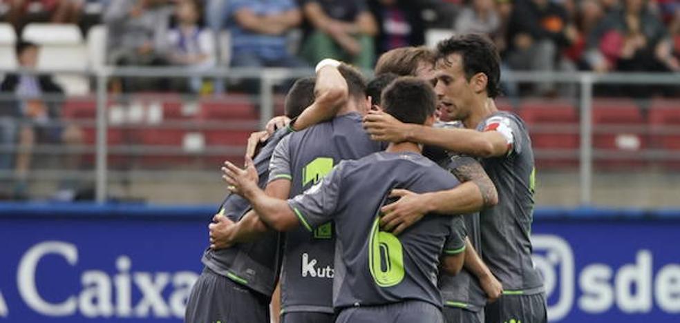Emocionante victoria de la Real Sociedad ante el Eibar en Ipurua