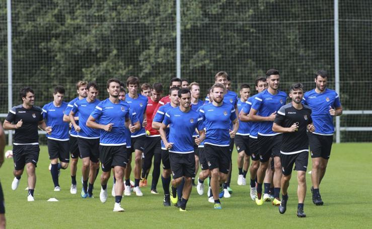 La Real Sociedad se prepara para enfrentarse al Real Union