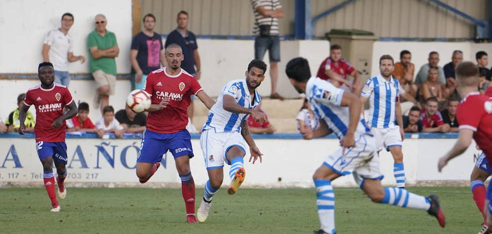 Sin ideas en ataque: el uno a uno de la Real Sociedad ante el Zaragoza