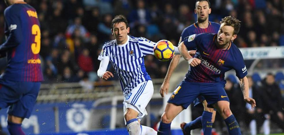 La Real Sociedad recibirá al Barcelona el sábado 15 de septiembre a las 16.15