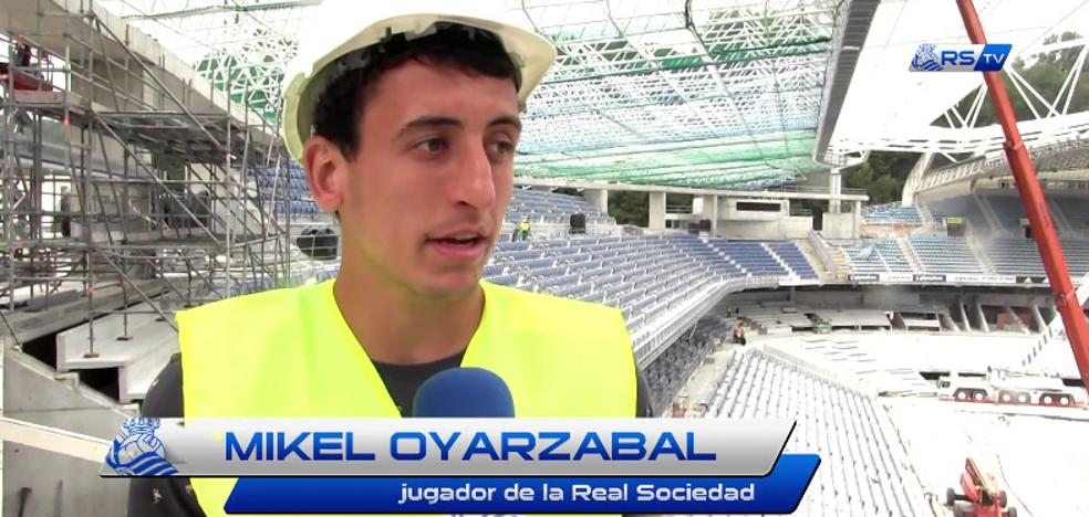 La Real Sociedad difunde un vídeo con elogios de Oyarzabal al nuevo Anoeta