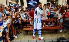 Theo Hernández, presentado como nuevo jugador de la Real Sociedad