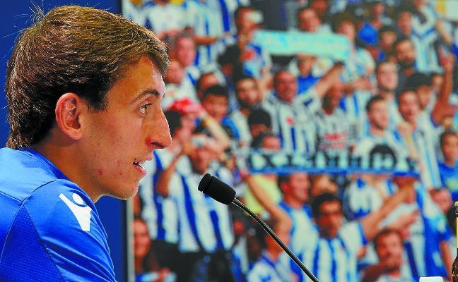 Oyarzabal: «La Real Sociedad tiene un proyecto ilusionante y quiero llevarlo adelante»