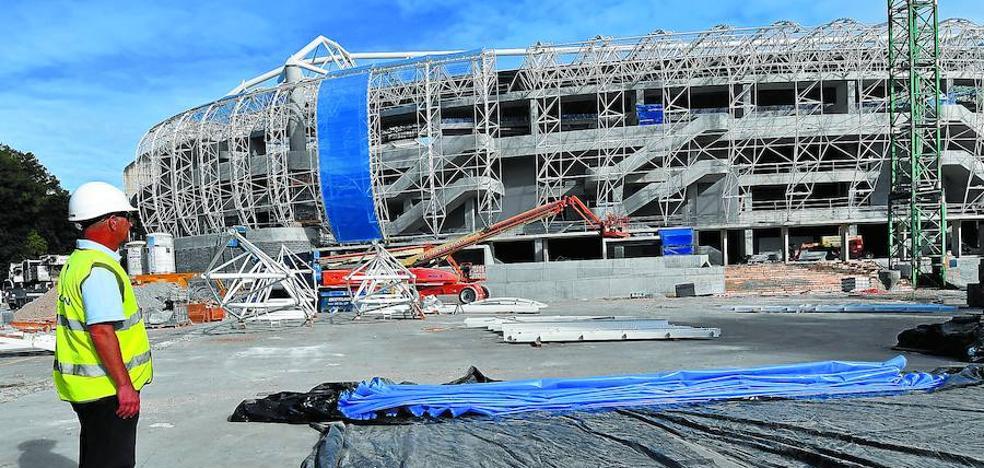 La nueva piel del estadio de Anoeta