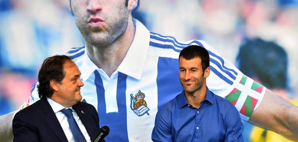 Imanol Agirretxe, en su despedida: «No cambiaría ningún gol metido con la Real Sociedad por millones en otro equipo»