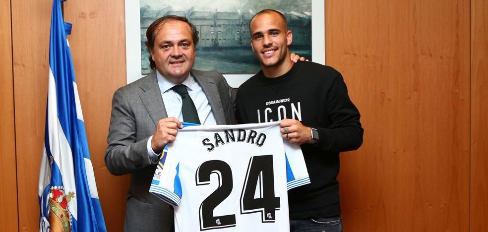 La Real Sociedad oficializa la llegada de Sandro
