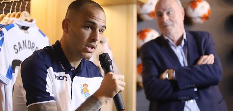 Sandro Ramírez: «Soy un jugador polivalente y espero que el míster lo aprecie»
