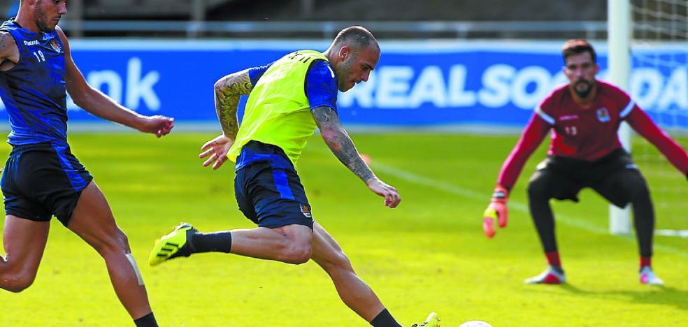 Real Sociedad: Sandro, la sonrisa para días grises