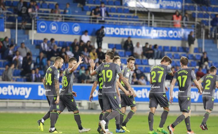 La Real Sociedad vence con merecimiento en el triangular tras derrotar al Alavés (0-1) y Sochaux (2-1)