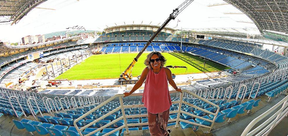 Edurne Ormazabal: «El nuevo estadio no solo va a beneficiar a la Real, también a la ciudad»