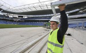 Luca Sangalli: «El nuevo Anoeta nos va a hacer más fuertes y nos va a situar en otra escala»