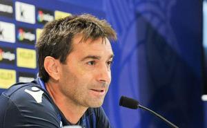 Garitano: «En el entrenamiento, el césped de Anoeta no se ha levantado nada»