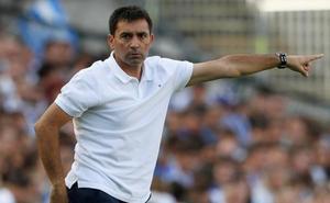 Asier Garitano lamenta la falta de «solvencia» de su equipo en los dos goles
