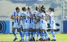 La Real femenina vence al Málaga