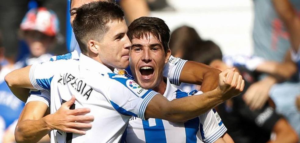 El gol de Aritz Elustondo, elegido entre los cinco mejores de la jornada
