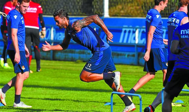Willian José, Real Sociedad entrenamiento