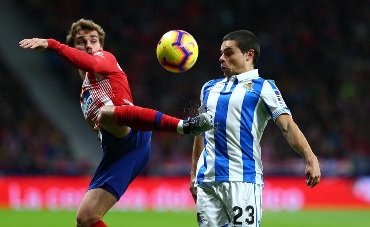 Atlético Madrid - Real Sociedad en imágenes